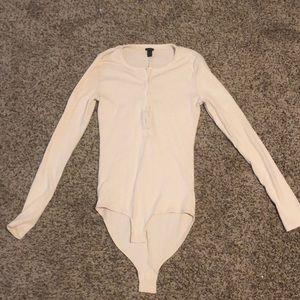Henley body suit